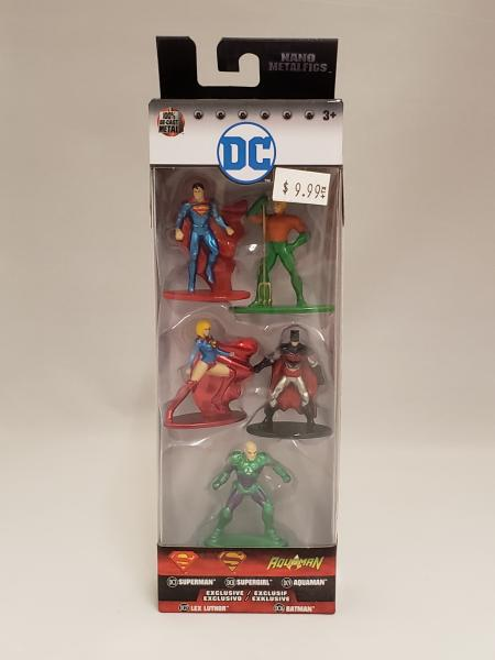 DC Comics Nano Metafigs 5 Pack