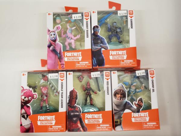 Assorted Fortnite Battle Royale Collection