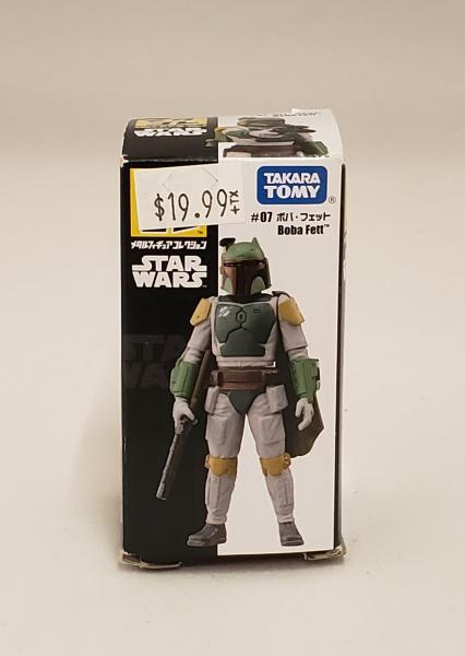 Boba Fett Takara Tomy Star Wars Metal Collection Mini 07