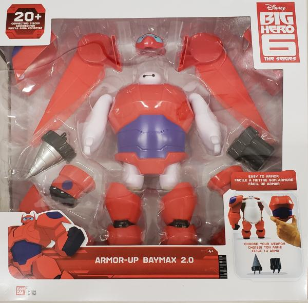 Big Hero 6 Armored Up Baymax Action Figure