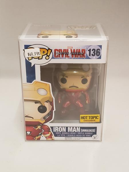 Iron Man (Civil War Unmasked Hot Topic) 136 Funko Pop!