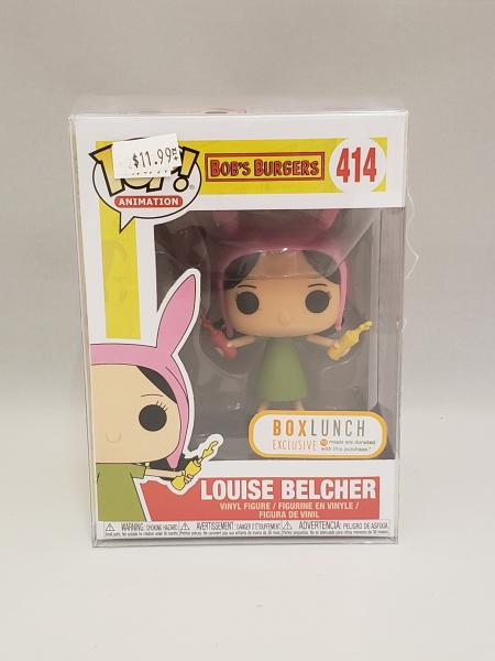 Louise Belcher With Condiments 414 Bob's Burgers Funko Pop!