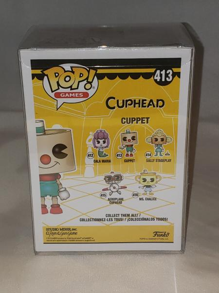 Cuppet 413 Cuphead Funko Pop! picture