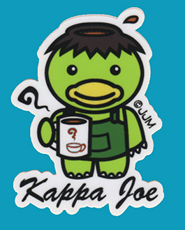 Kappa Joe Sticker