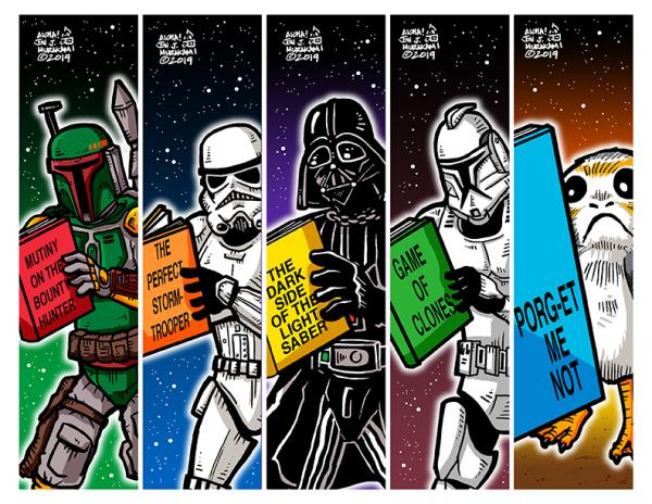 Bookmarks: Star Wars B Villains