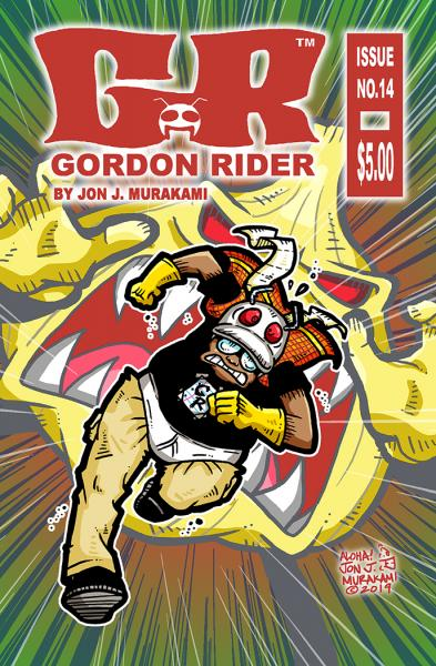 Gordon Rider: Issue #14