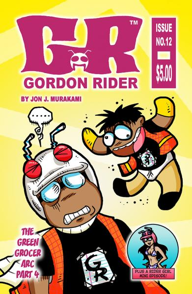 Gordon Rider: Issue #12