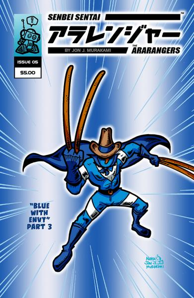 The Ara-Rangers: Issue #5