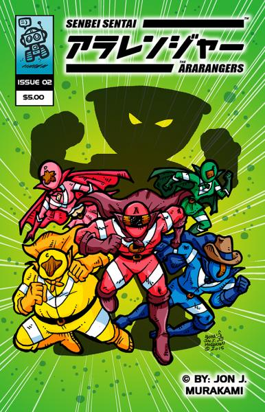The Ara-Rangers: Issue #2