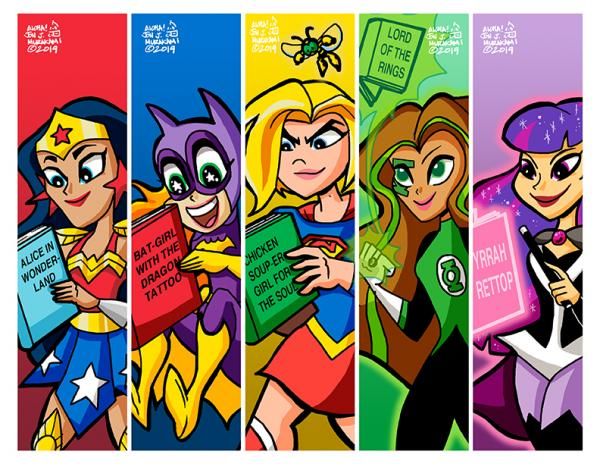 Bookmarks: DC Superhero Girls