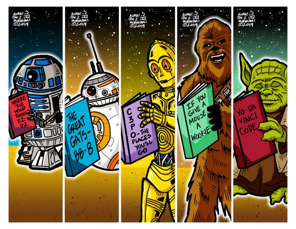 Bookmarks: Star Wars A Heroes