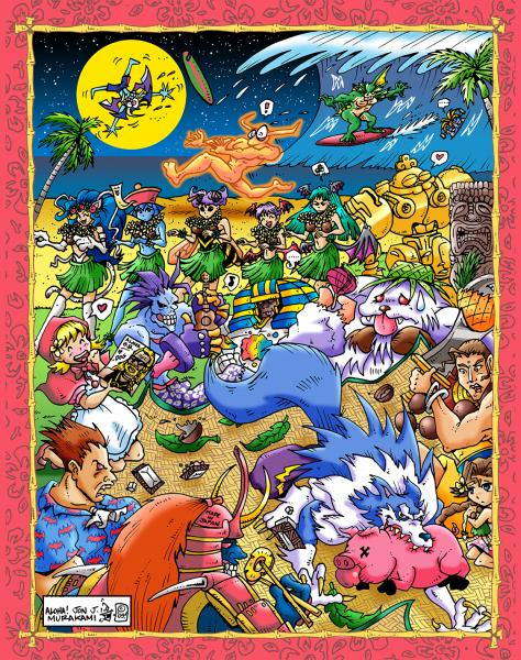 Prints: Darkstalkers in Hawaii print