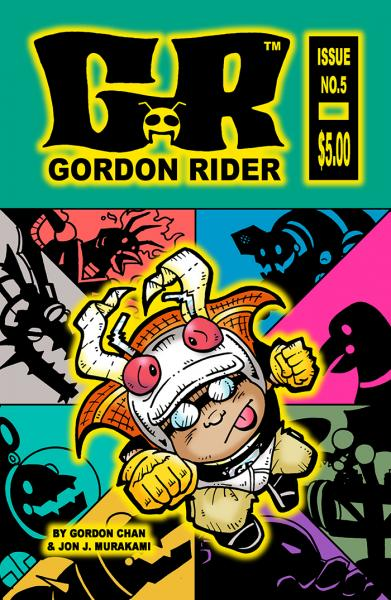 Gordon Rider: Issue #5