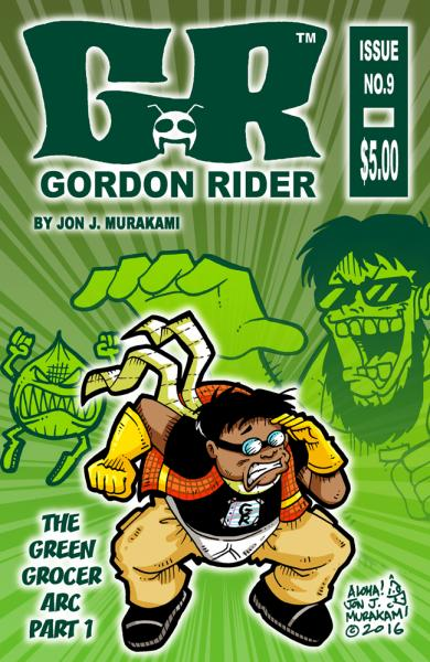 Gordon Rider: Issue #9