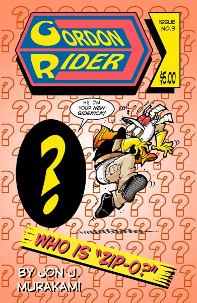 Gordon Rider: Issue #3