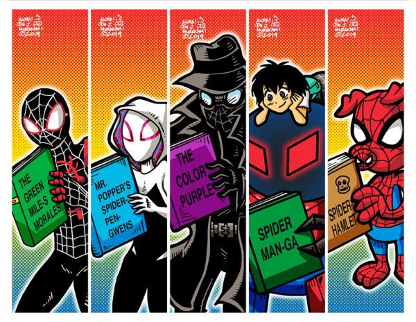 Bookmarks: Spider-Verse