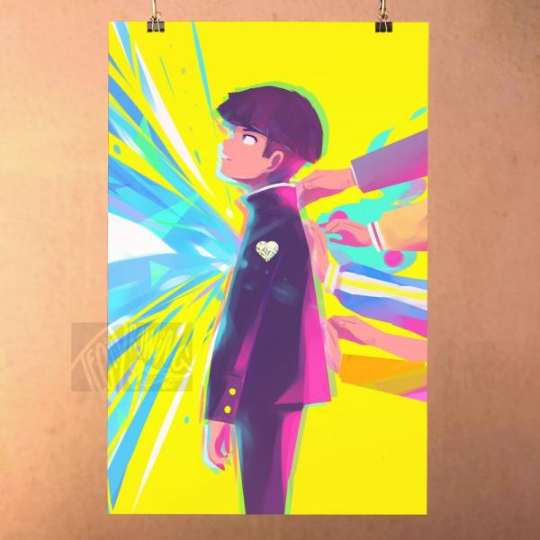 Mob Psycho 100 Poster Print - People Need People