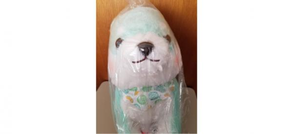 Mameshiba melon dog plush
