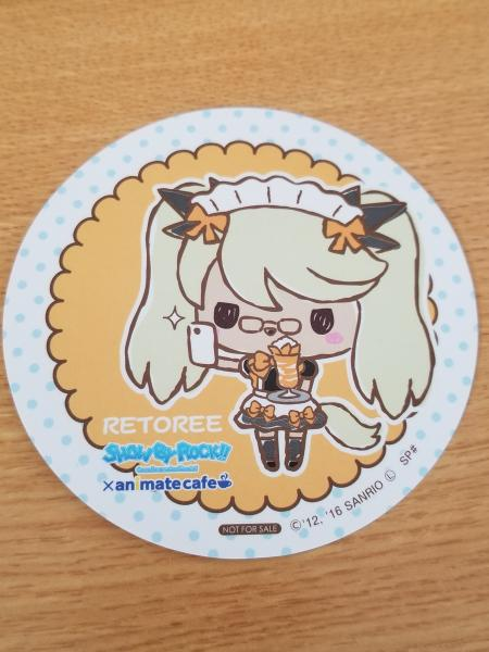 Show by Rock!! Retoree Cafe coaster