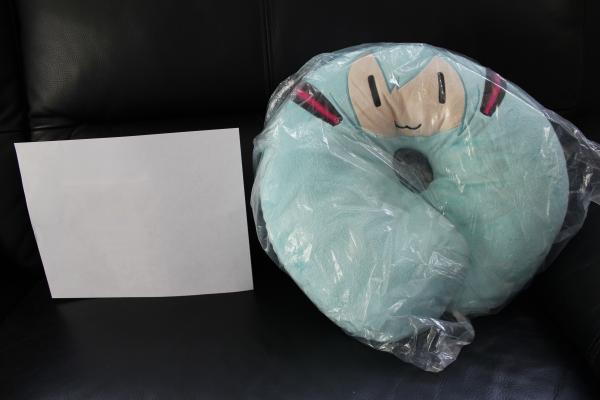 Hatsune Miku neck pillow plush Japan