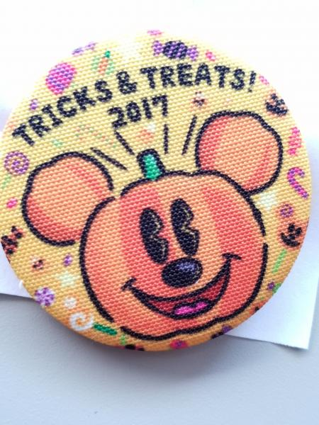 Disney Mickey Halloween button