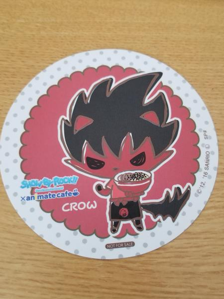 Show by Rock!! Crow Cafe paper coaster