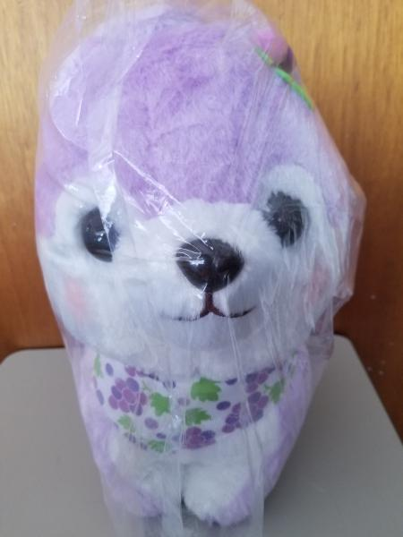 Mameshiba grape dog plush