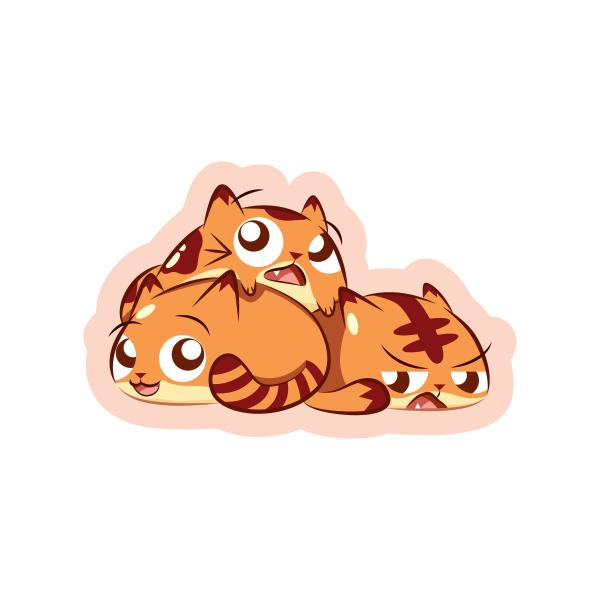 Neko Pan Sticker