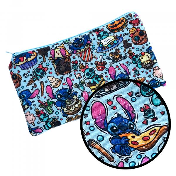 Stitch and Scrump Treats Zippered Pouch Bag