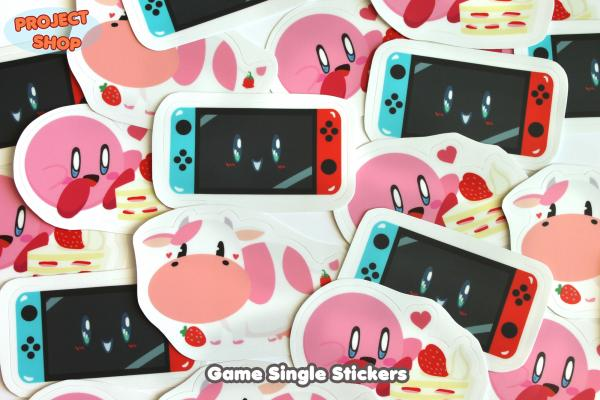 Game Single Stickers