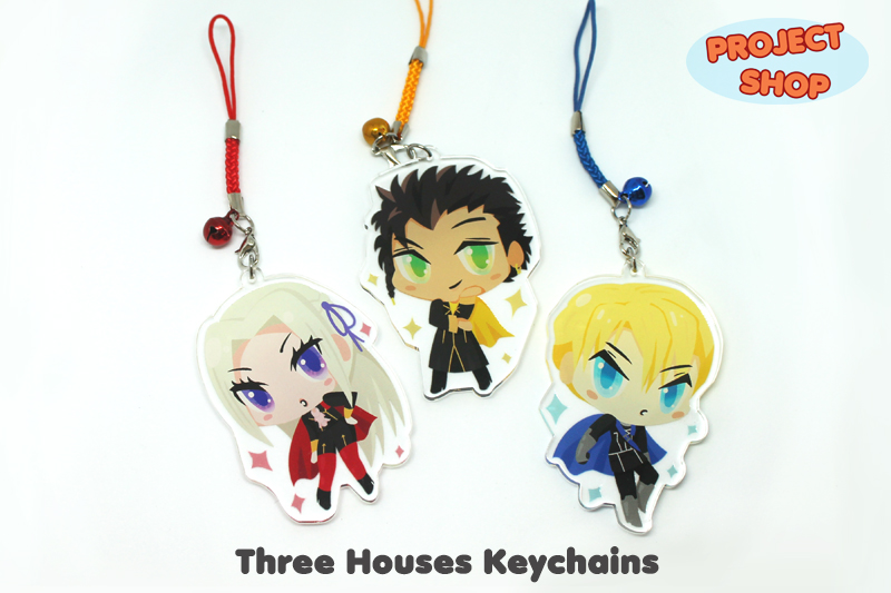 Fire Emblem Three Houses Keychains