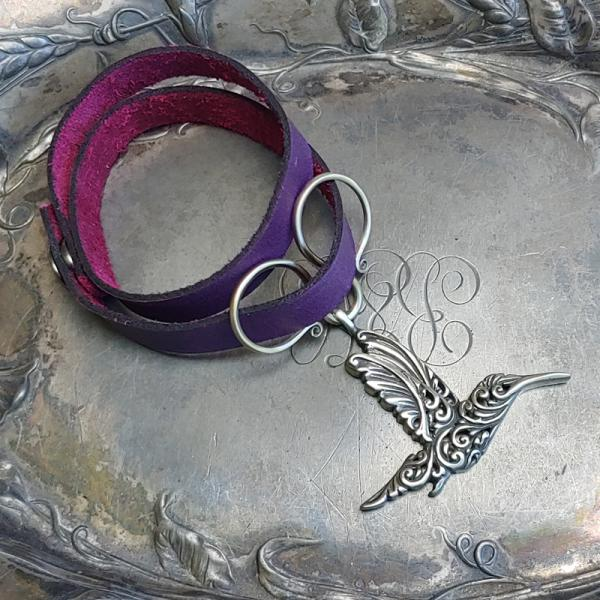 Oxbow Double-Wrap Charm Lock Shawl Cuff picture