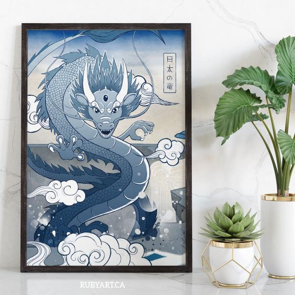 Japan Blue collection Dragon