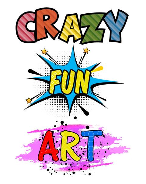 CRAZY  FUN  ART