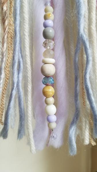 lavender + purple + blue + gray + cream dream catcher (sku380) picture