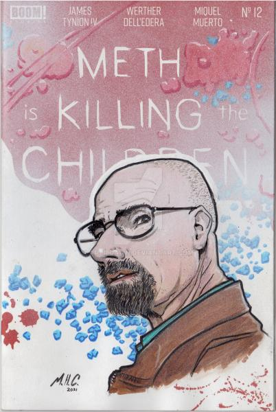 MHC Variant - Something is Killing the Childern: Walter White edition