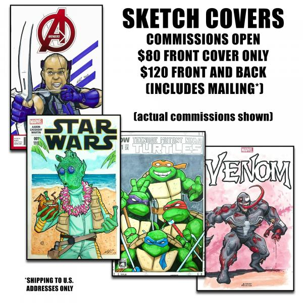 Sketch Variant Commissions (FRONT ONLY)