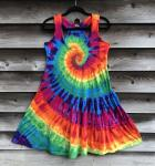 SIZE SMALL Rainbow Spiral Dancin' Dress