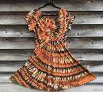 SIZE XL Browns Spiral Twisted Front Dress