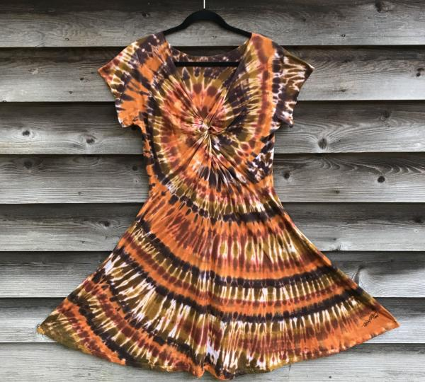 SIZE XL Browns Spiral Twisted Front Dress picture