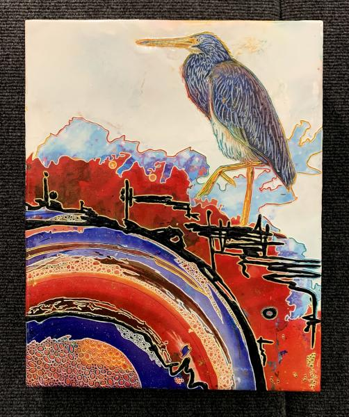 Blue Heron (11x14) picture