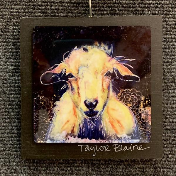 Goat on Metal (4x4)