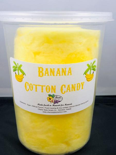 Banana Cotton Candy