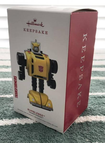 BUMBLEBEE CHRISTMAS ORNAMENT