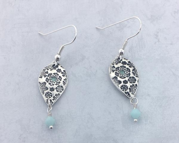 Fine Silver Earrings - Snow Flake