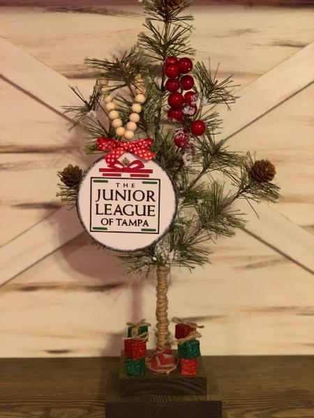 Junior League of Tampa Wooden Ornament picture
