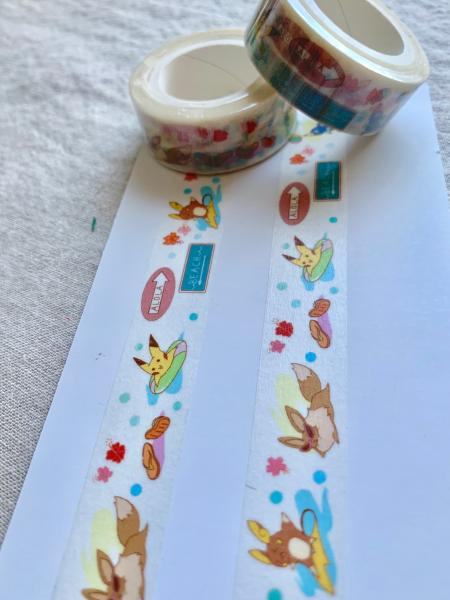 Alola Pokemon washi tape