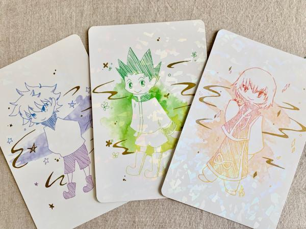 HxH postcards