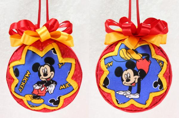 Classic Mickey Mouse Ornament