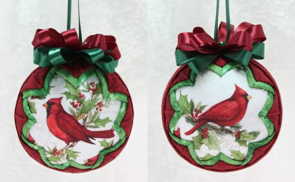 Christmas Cardinal Ornament